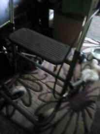 Disabled walker