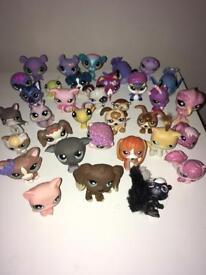 Littlest pet shop figures bundle