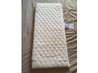 John Lewis premium crib mattress