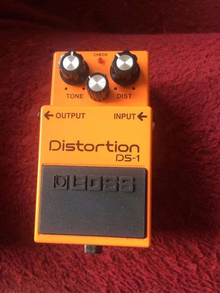 BOSS DS 1 DISTORTION PEDAL (SALE OR SWAP)
