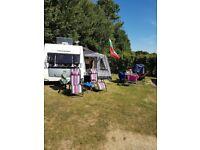 Eldis Advante 540 (vanlander) 4 berth caravan