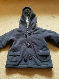 Baby boys coat 3-6m