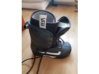 Snowboard Boots Vans Off The Wall Blue UK 8.5