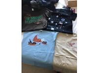 Size 10/12 - 11 new tshirts with different designs