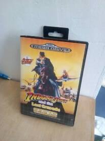 Indiana Jones Sega megadrive game boxed complete