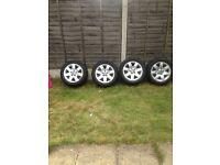 Bmw e46 alloys and tyres
