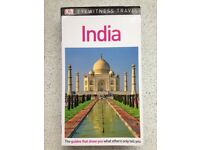 DK Eyewitness Travel Guide - INDIA - DK Travel, absolutely mint condition