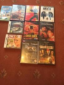 DVD and some games