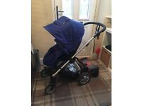 Sola Mamas and Papa pushchair with buggy board