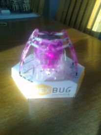 HEX BUG 'INCHWORM' - BATTERY POWERED ROBOT - AS NEW & ON ORIGINAL PLINTH - £5.50 ono