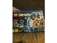 Wii u Lego dimensions starter pack