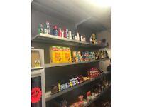 Shop shelving unit