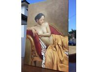 Another Oil painting of female nude