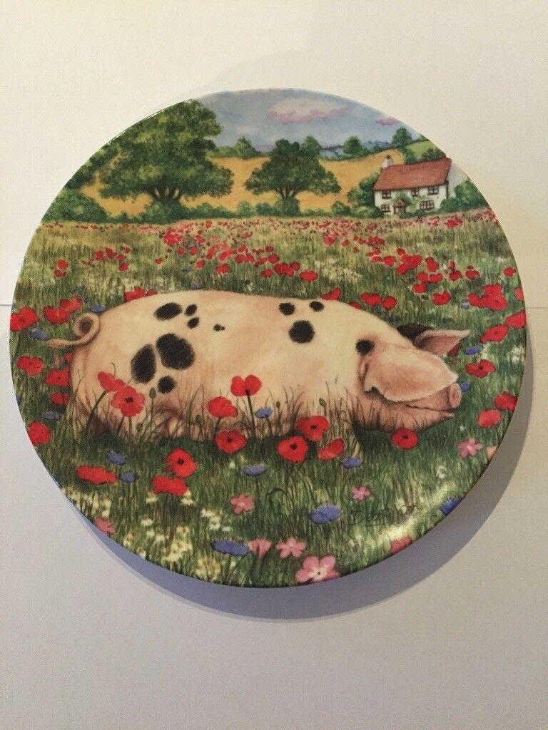 d596ce6608e Set of 5 Royal Doulton Country companion plates. Cwmbran