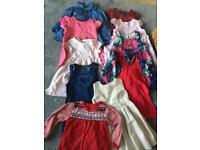 Lot of 10x 12-18mth dresses
