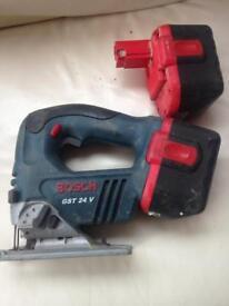 Bosch GST 24v jigsaw