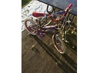 Girls bike £10