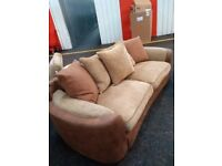 Sofa an swivel chair