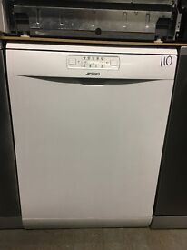 SMEG DFD613W Full-size Dishwasher - White