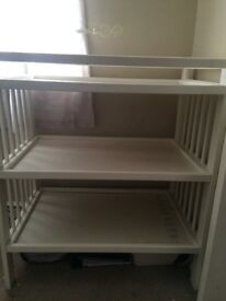*New Hardly Used Changing Table