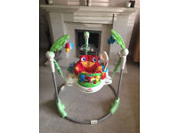 Fisher-Price RAINFOREST JUMPEROO; suitable for baby boy or girl, in excellent condition, great item!