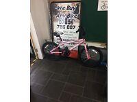 "Dulcis Avico BMX pink / white 12"" Inch"