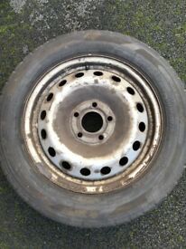 Renault traffic spare wheel