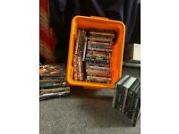 Large bundle of dvds in box £10 the lot to clear
