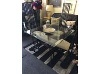 Table and 4 chairs £150 delivered