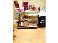 X 2 glass counters Ilford