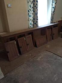 Pine kitchen unit needs refurb