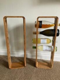 Wine rack/bottle rack - wall mounted