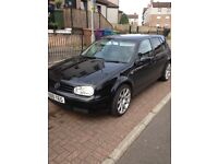Golf gti turbo for sale or swap for transit connect