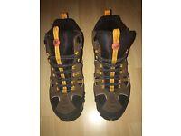 Men's Merrell walking boots size 9