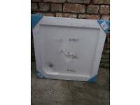 Shower tray Slimline acrylic 800mm X 800mm - NEW + UNUSED