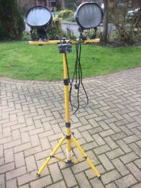 Telescopic Site Tripod Lights