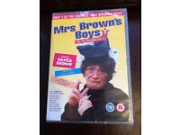 Mrs Brown's Boys DVD still in plastic wrapping