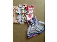 0-3 month old romp as and dress (baby girl)