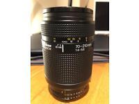 Nikon 70-210mm AF lens