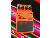 Guital pedal BOSS Mega Distorsion MD-2