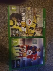 Fifa 16 and 17 Xbox one