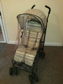 nano mother care stroller, good condition. Comes with rain cover and sun umbrella.
