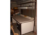 Commercial Grade Heavy Duty Engineering / Lab Table Workbench