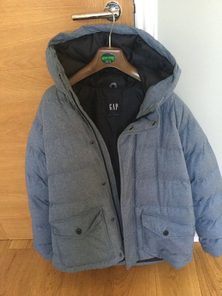 42d932324 GAP Heavyweight Down Hooded Puffer Jacket | in Dunfermline, Fife | Gumtree