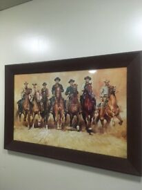 Framed print of The Magnificent Seven