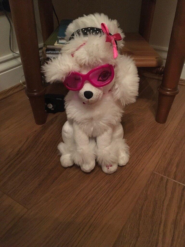 Lovely cuddly toy dog