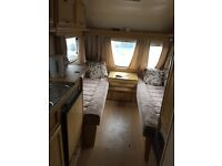 5 berth 1996 Abbey Piper caravan including extra large awning
