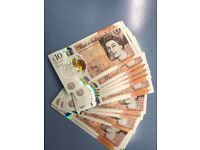£10 Polymer notes