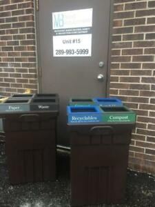 Used High Quality Recycling Bins
