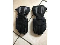 MOTORBIKE LEWIS WATERPROOF GLOVES SIZE L EXCELLENT CONDITION